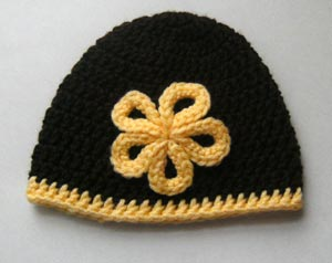 Knitted hats4 انواع کلاه بافتنی