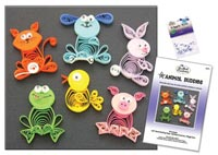 paper quilling 1 مدل منبت کاری با مقوا paper quilling
