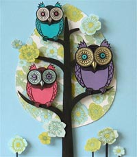 paper quilling 11 مدل منبت کاری با مقوا paper quilling
