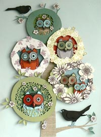 paper quilling 13 مدل منبت کاری با مقوا paper quilling