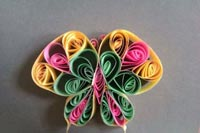 paper quilling 141 مدل منبت کاری با مقوا paper quilling