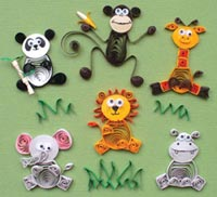 paper quilling 15 مدل منبت کاری با مقوا paper quilling