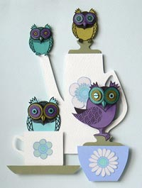 paper quilling 8 مدل منبت کاری با مقوا paper quilling
